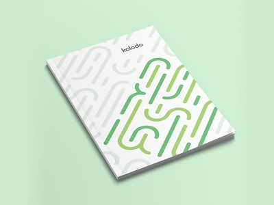 Abstract 🌵(Mockup) lines green geometric cactus abstract