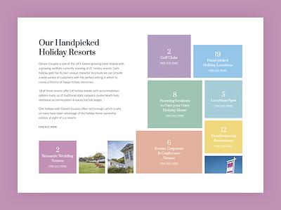 CSS Grid fun website travel uk holidays brand