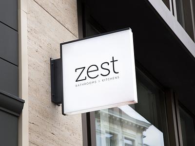 A Zest for life logo brand identity brand branding