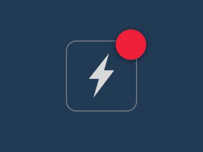 Notification badge alert notification icon