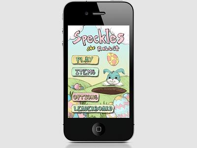 Speckles game ios design ui app iphone