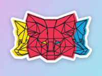 Metamask Stickers