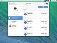 MetaMask Desktop Concept