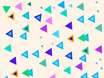 Triangle vector graphicdesign abenteuer grafikdesignerin branding illustration design