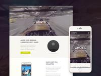 AKQYS Responsive Website