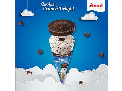 Amul Icecream poster design