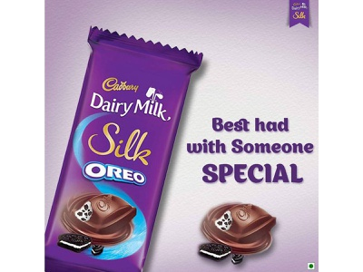 Cadbury Chocolate Poster poster design