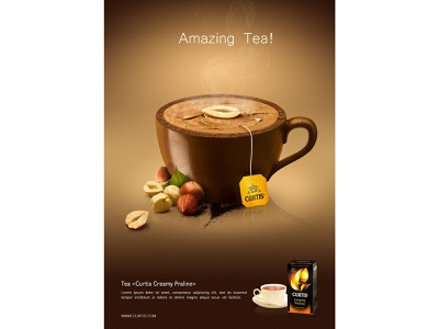 Tea Poster poster design