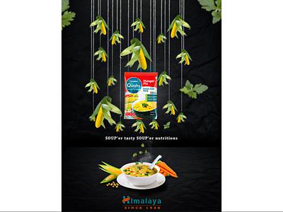 Himalaya Soup design poster design