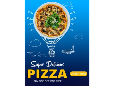 Pizza Poster design poster design