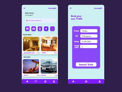 Minimalistic booking app ui ux illustration design illustrator graphic design simple minimalistic booking app booking xd ui