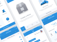 Placing an order flow in transportation app