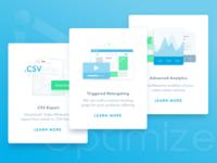Online Marketing Automation App Feature Representation Design