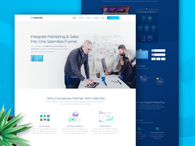 Sales and Marketing Automation Integration Services Homepage