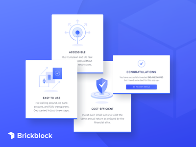 Features Icons for Blockchain Investment website internet of things iot features ux ui interface website blockchain illustration icons