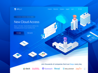 Acces Control Platfor Landing Page WIP