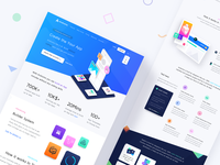 App Development Platform Landing Page