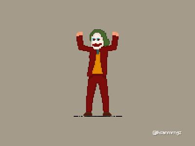 Pixel Art / Joker batman joker digital art art graphic graphic design 8bits pixel pixel art 8bit