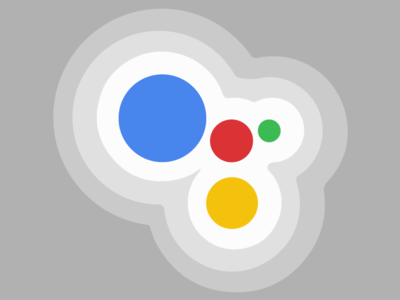 Google Assistant  gradient ai nougat yellow green red blue ios android assistant iphone google