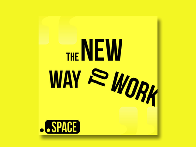 .SPACE thirtylogos startup space yellow