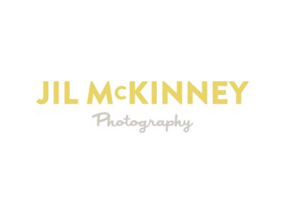 Jil McKinney Logo logo japan photographer brandon grotesque