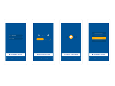Onboarding Animations onboarding game football motion graphics mobile animation