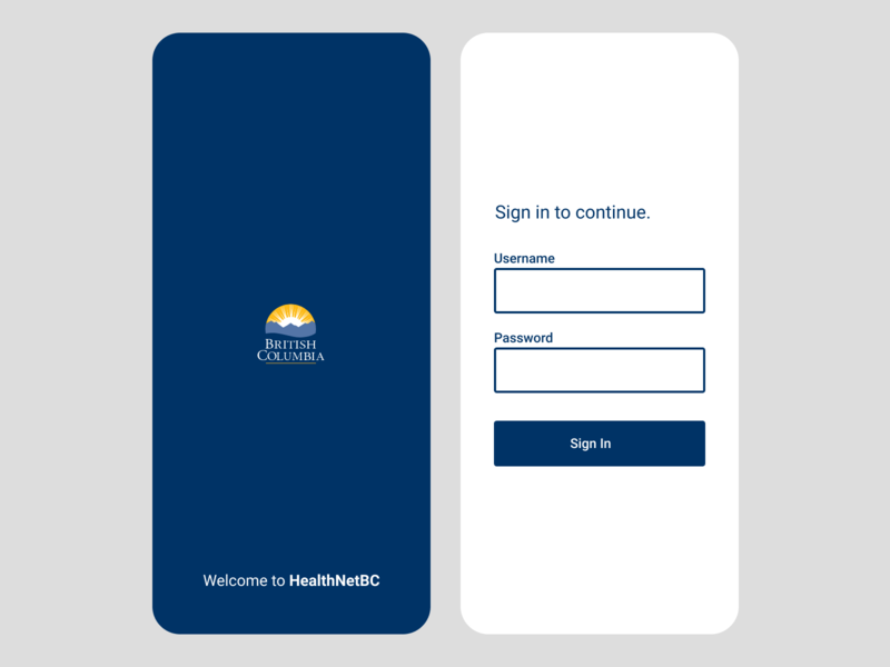 Mobile Login Screen sign in password username login mobile app