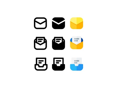 email icons web app icons iconography vector design illustration ui website branding icon