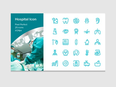 Hospital Icon website ui illustration branding icon