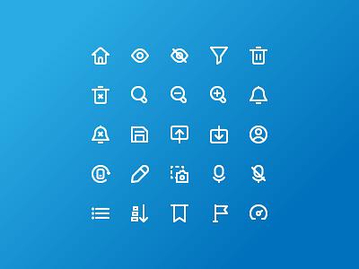 Basic User Interface minimal ux design website ui branding icon
