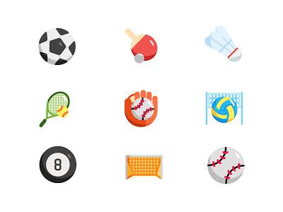 Sport Icon illustrator illustration design web app vector website ui branding icon