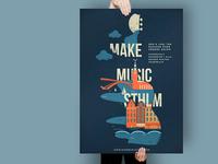 Make Music Sthlm Poster