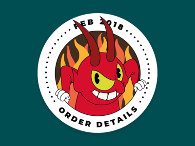 Order Details – Mission Patch