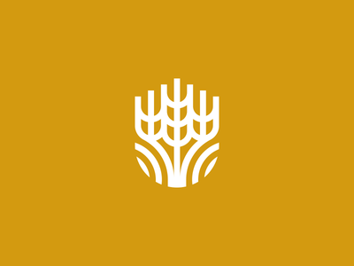 Agricultural Products Company Logo design symbol icon identity branding logo food bakery product farm wheat agriculture