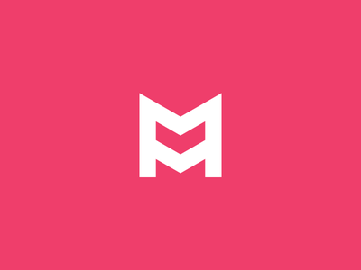 Machinery Company corporate branding machinery monogram mm mark m logo lettering letter identity brand