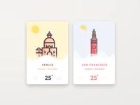Venice & Sanfrancisco