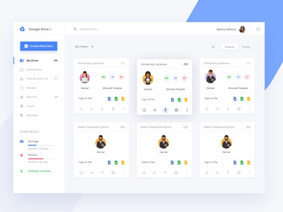 Google Drive Concept Design