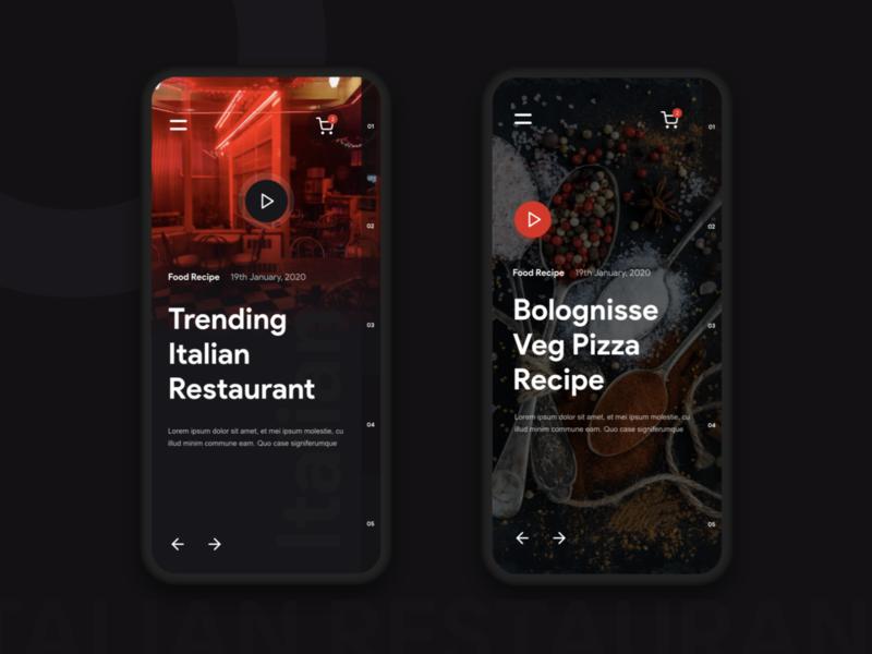 Restaurant Recipe App