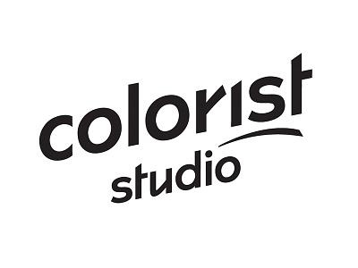 """Colorist"" Studio logotype hairstylist lettering identity branding design logo logotype"