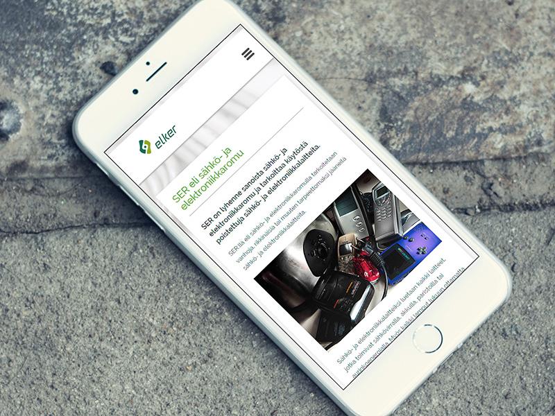 Elker Website Development bootstrap jquery css mobile responsive