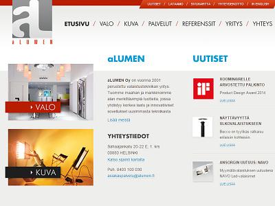 Alumen Web Development responsive mobile jquery css frontend html
