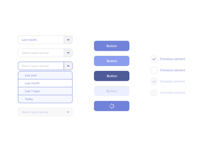 UI form elements (select, button, checkbox) form design select checkbox button states button design buttons button fields field form field forms form ux flat typography clean ui minimal design
