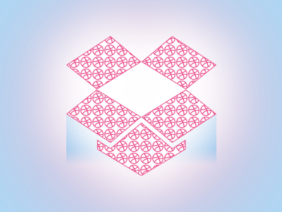 Dribbble and dropbox