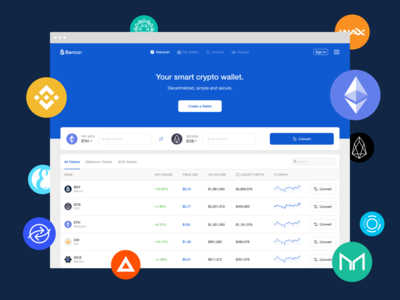 Bancor Network Homepage