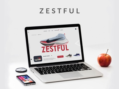 Webpage Design product ui eye catching website web modern branding ecommerce ui design minimal