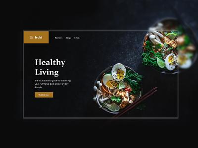 Food Website Design branding website web eye catching product ui ecommerce ui modern minimal design