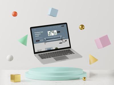 Web UI product ui website branding typography ui eye catching ecommerce modern minimal design