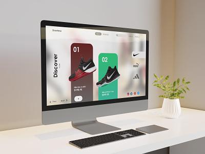 Website Design web typography website product ui ecommerce branding ui modern minimal design