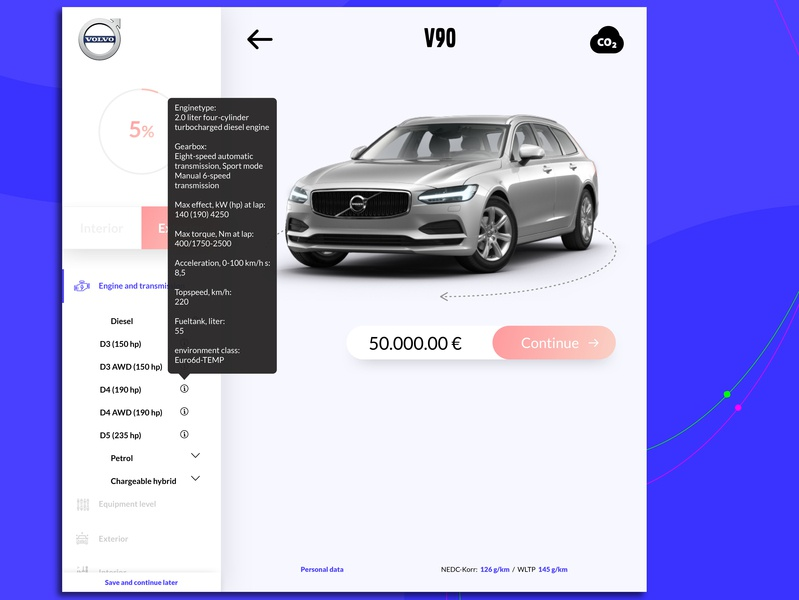 Redesign Of Build Your Own Volvo Car Ui Ux And Ia Design