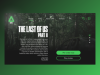 Online game store concept for the web